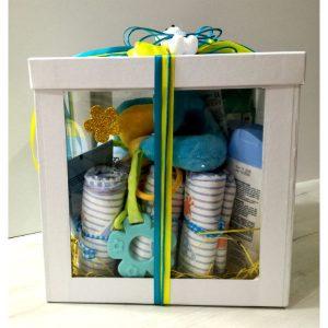 Кутија за новороденче -машко