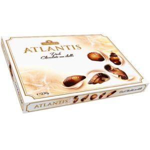 АТЛАНТИС Чоколадни морски школки – бонбониера