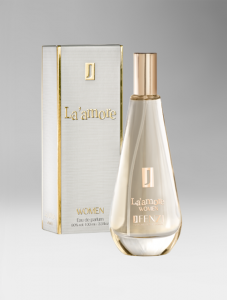 La'amore – Eau de Parfum 100 ml.