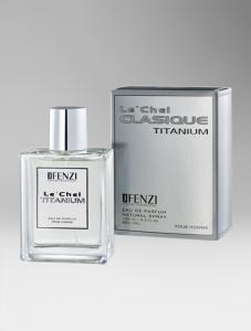 Le'chel Clasique Titanium – Eau de Parfum 100 ml.