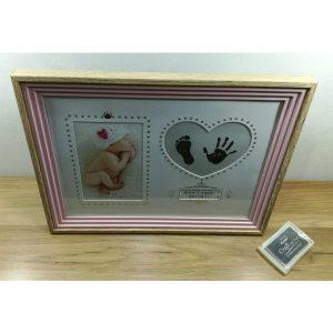 Рамка за новороденче-девојче