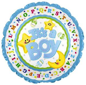 Фолија балон BABY BOY 01