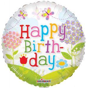 Фолија балон Happy Birthday 04