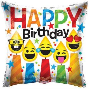 Фолија балон Happy Birthday 02